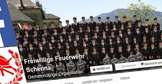 Facebook-Seite der FF-Schenna!