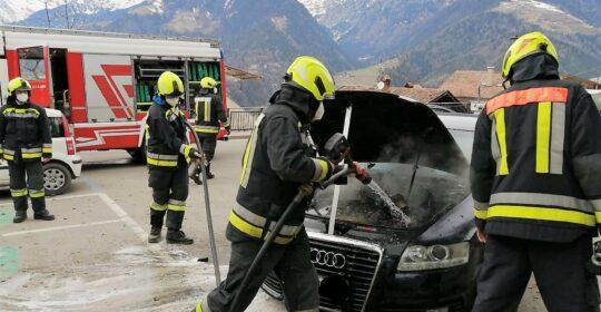 Fahrzeugbrand am 03.03.2021