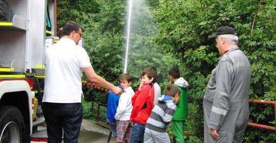 Besuch vom Sommerkindergarten