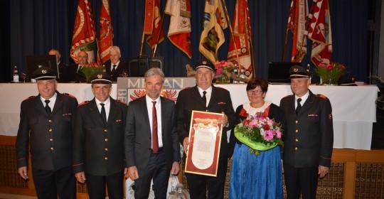 Jakob Pichler zum Ehrenmitglied des Bezirksverbandes ernannt
