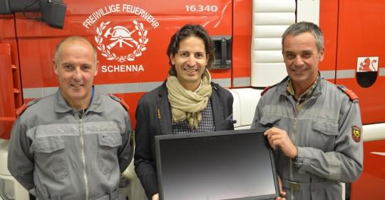 Neue EDV-Anlage – Firma Systems unterstützt die FF Schenna