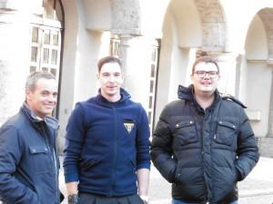 BF Mann Helli mit Klaus und Hansi