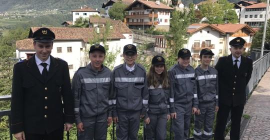 Florianifeier der Feuerwehr Schenna