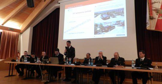 Vollversammlung der FF Schenna: Einsatzreiches Jahr 2017