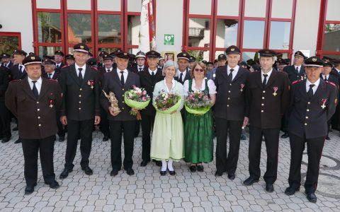 Festliche Florianifeier in Verdins