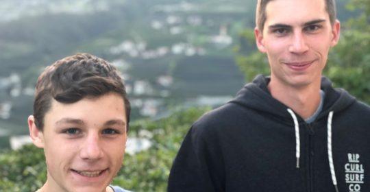 Zwei neue aktive Wehrmänner für die FF Schenna