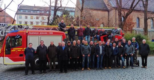 Ausflug der Kommandantschaft der FF Schenna zur Berufsfeuerwehr München