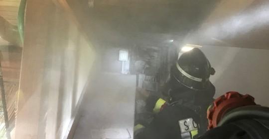 Brandeinsatz beim Ausser- Roathof